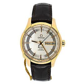 Omega DeVille Hour Vision 431.63.41.22.02.001 18K Rose Gold 41mm Mens Watch