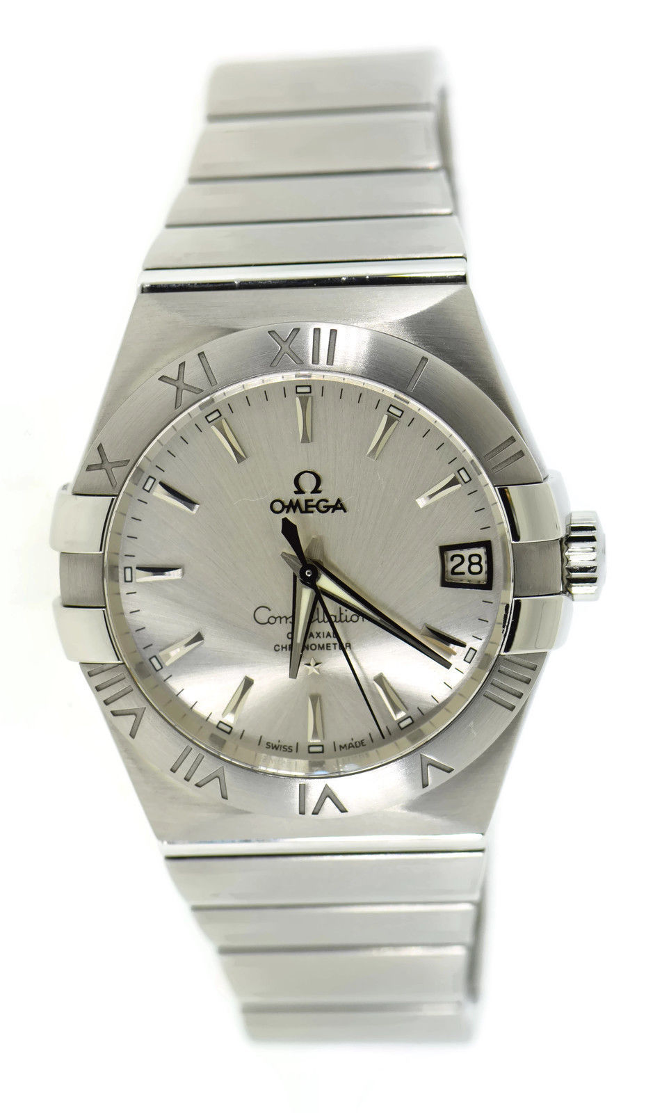 "Image of ""Omega Constellation 123.10.38.21.02.001 Stainless Steel 38mm Mens"""