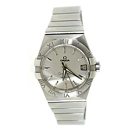 Omega Constellation 123.10.38.21.02.001 Stainless Steel 38mm Mens Watch