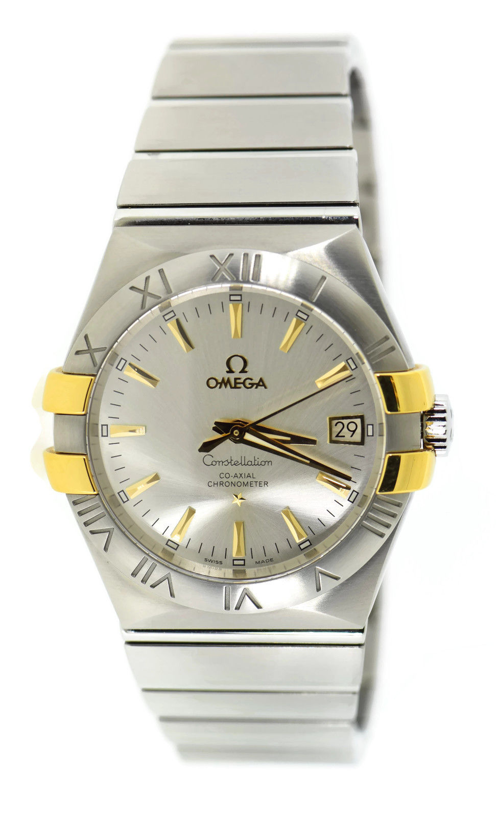 "Image of ""Omega Constellation 123.20.35.20.02.004 18K Yellow Gold/Stainless"""