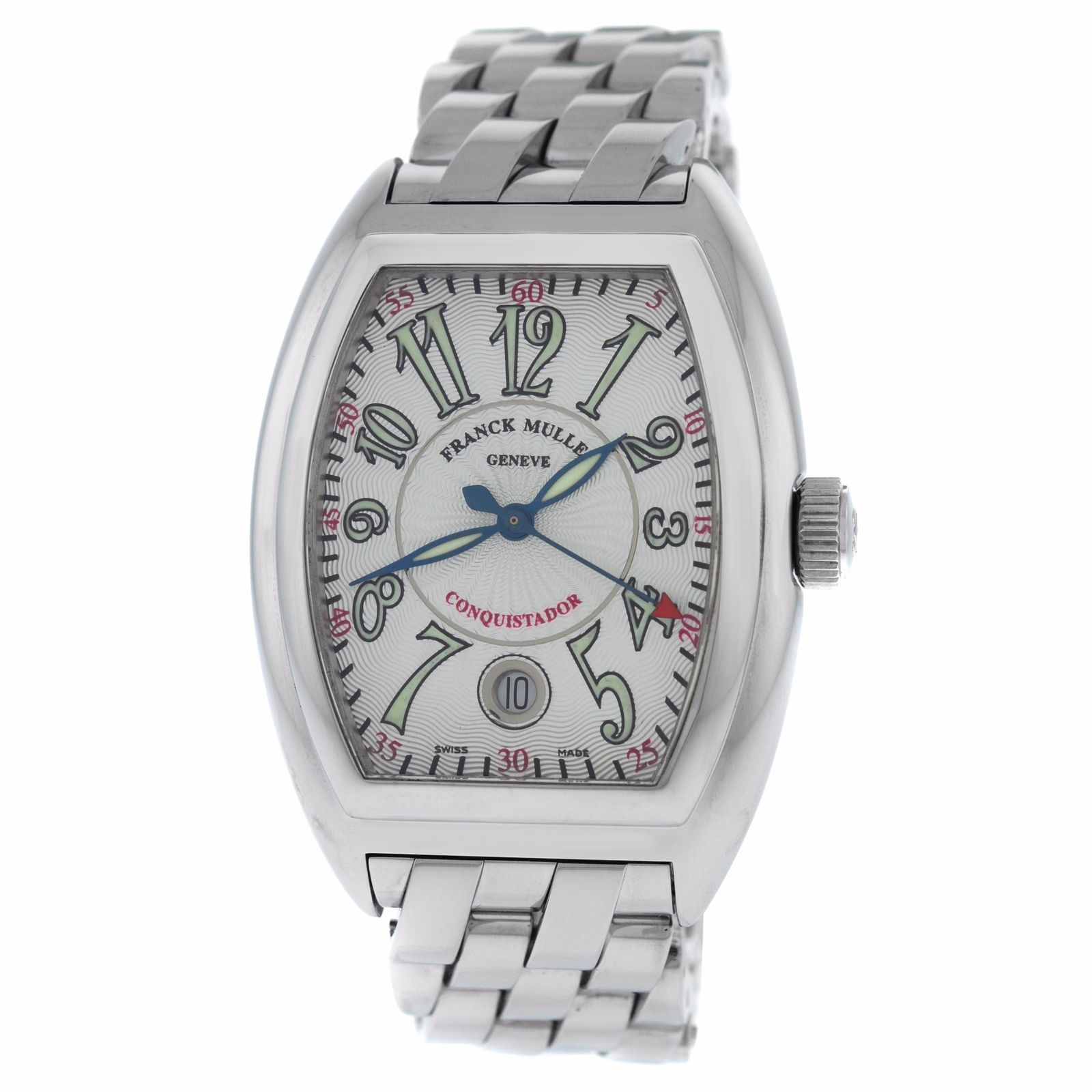 "Image of ""Franck Muller Conquistador 8005 SC Stainless Steel Automatic 35mm Mens"""