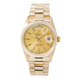 Rolex Day-Date 18238 18K Yellow Gold Automatic 38mm Mens Watch
