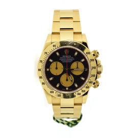 Rolex Daytona 116528 18K Yellow Gold Paul Newman Dial Automatic 40mm Mens Watch 2016