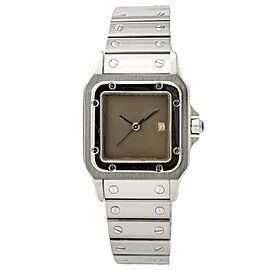 Cartier Santos 237299 Stainless Steel Gray Dial Automatic 29mm Unisex Watch