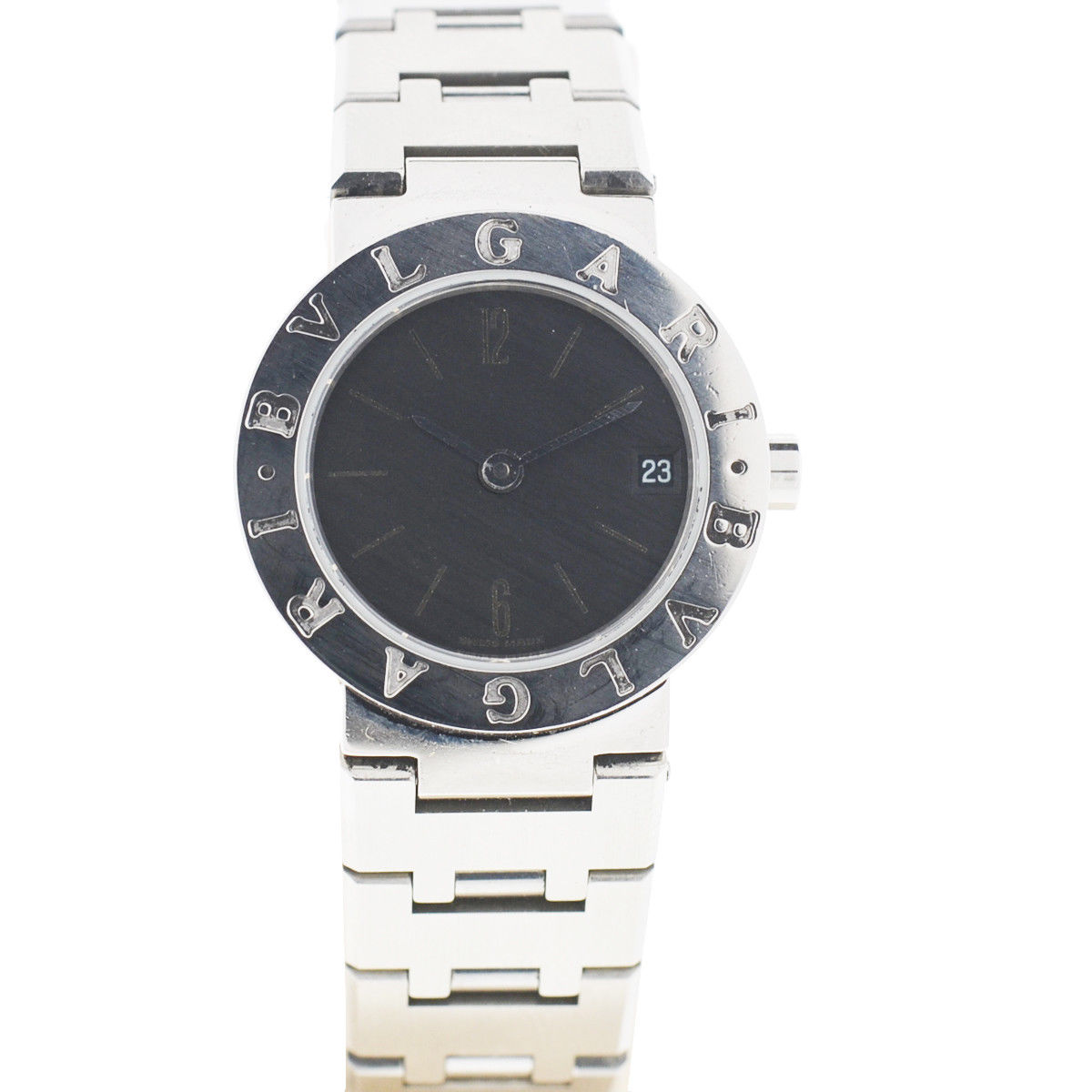 "Image of ""Bulgari Bb23 Stainless Steel 23mm Quartz Womens Watch"""