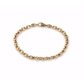 Cartier Mariner 18K Yellow Gold Link Bracelet