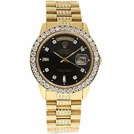 Rolex Day-Date President 18038 18K Yellow Gold Vintage 36mm Unisex Watch