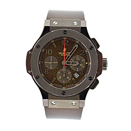 Hublot Big Bang 301.SL.1008.RX Chocolate PVD Coated Stainless Steel & Rubber Automatic 44mm Mens Watch