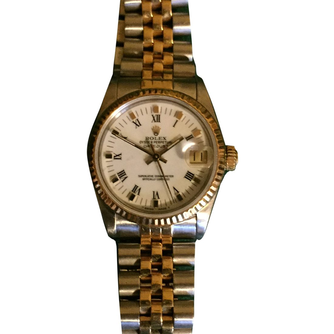 """Image of """"Rolex Oyster Perpetual Datejust 745-8329271 Stainless Steel & 18K"""""""