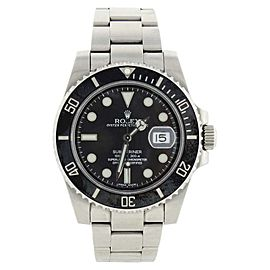 Rolex Submariner 116610 Stainless Steel Black Dial Black Ceramic Bezel Watch