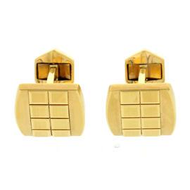 Piaget 18K Yellow Gold Cufflinks