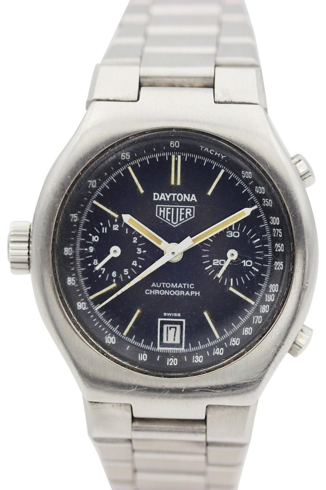 "Image of ""Heuer Stainless Steel 110.203.b Daytona Chronograph Automatic Mens"""