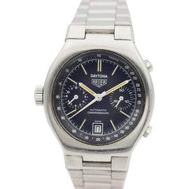 Heuer Stainless Steel 110.203.B Daytona Chronograph Automatic Mens Watch