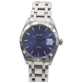 Eberhard Aquadate Stainless Steel Automatic Blue Dial Men's Watch