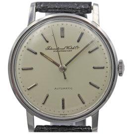 IWC Schaffhausen Automatic Stainless Steel Men's Vintage Watch