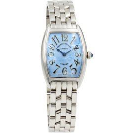 Franck Muller Curvex 1752 QZ Stainless Steel Mens Watch