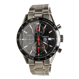 Tag Heuer Stainless Steel Carrera Watch