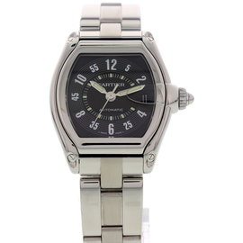 Cartier Roadster 2510 Automatic Stainless Steel Mens Watch