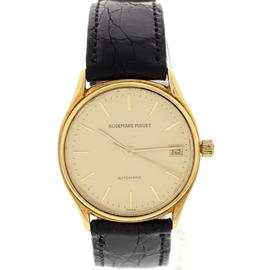 Vintage Audemars Piguet Classique 18K Yellow Gold Automatic Date Watch