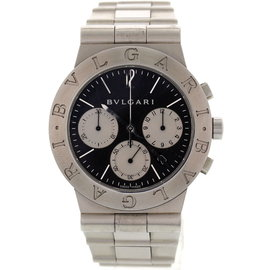 Bulgari Diagono Chronograph CH 35 S Stainless Steel Men's Watch