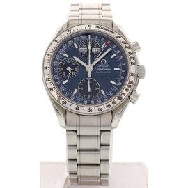 Omega Speedmaster Triple Date Automatic Stainless Steel Men's Watch