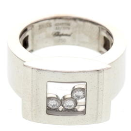 Chopard 18K White Gold Diamonds Ring