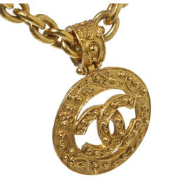 Chanel Gold Medallion CC Necklace 94A
