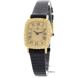 Baume & Mercier 18K Yellow Gold Womens Watch
