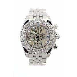 Breitling A13356 Chronomat Evolution Diamonds Watch
