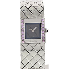 Chanel Matelasse 1993 Stainless Steel Womens Watch