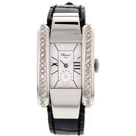 Chopard La Strada 41/8357 Stainless Steel & Diamonds Womens Watch