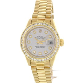 Rolex Oyster Perpetual DateJust 59173 18K Yellow Gold and Diamond 26mm Watch