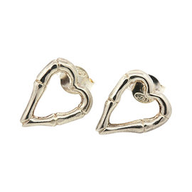Gucci Sterling Silver Stud Earrings