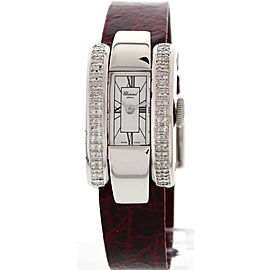 Chopard La Strada 4331 18K White Gold Diamond 18 mm Watch
