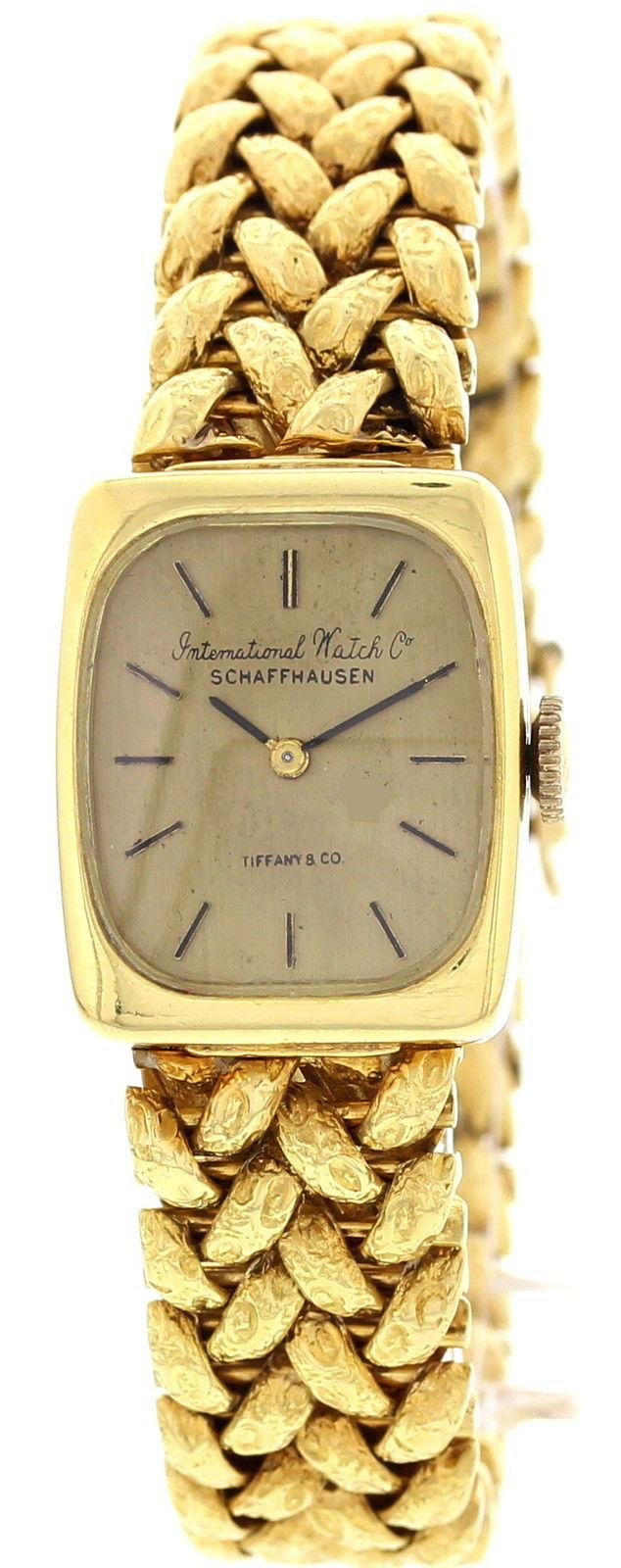"Image of ""IWC Schaffhausen 18K Yellow Gold Womens Watch"""