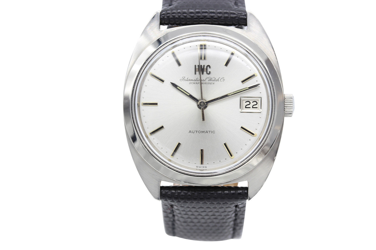 "Image of ""IWC Schaffhausen Automatic Stainless Steel Men's Watch"""