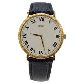 Piaget 18K Yellow Gold 23mm Unisex Watch
