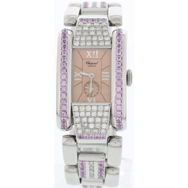 Chopard La 8357 Strada Stainless Steel & Diamond Womens Watch