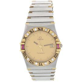 Omega 3961070/3961080 Constellation Diamond Pink Sapphire Watch