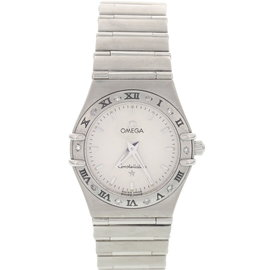 Omega Constellation Stainless Steel Womens Watch