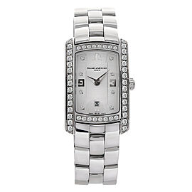 Baume & Mercier Hampton Milleis 8513 Stainless Steel 22mm Womens Watch