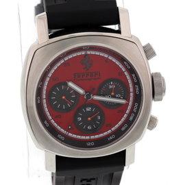 Panerai F6656 Ferrari Chronograph Stainless Steel Mens Watch