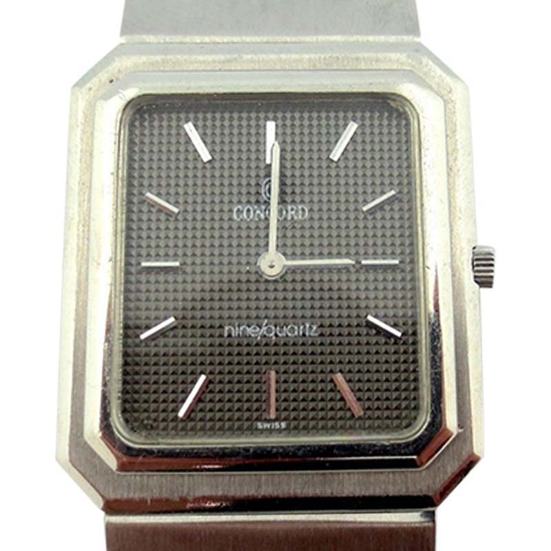 """Image of """"Concord Mariner Ultra Thin Stainless Steel Unisex Watch"""""""