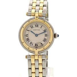 Cartier Panthere Vendome 18K Yellow Gold & Stainless Steel Womens Watch