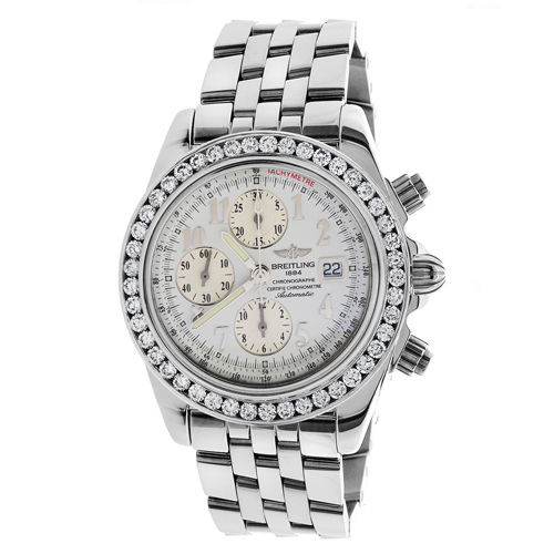 """Image of """"Breitling A13355 Crosswinds Racing Chronograph Stainless Steel 42.7mm"""""""