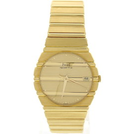 Piaget Polo 393390 18K Yellow Gold 30mm Watch
