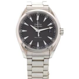 Omega Seamaster Aqua Terra 196.1118 Stainless Steel Quartz Mens Watch