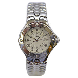 Ebel Sportwave E9087622 Stainless Steel 27mm Womens Watch