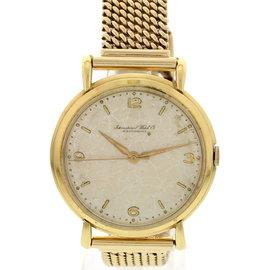 IWC Schaffhausen 18K Yellow Gold 36mm Watch