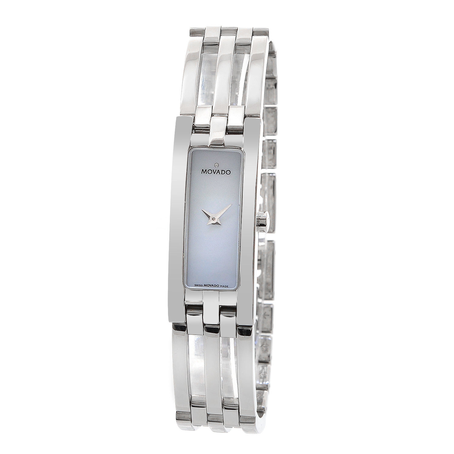 """Image of """"Movado Esperenza 84 H5 1400 Mother of Pearl Dial Stainless Steel 15mm"""""""